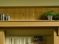 Mantle with broad shelf