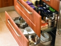 wire drawers with drawerfronts