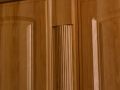 Reeded pilaster