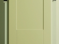 Shaker sloping door