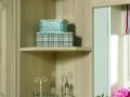 Wall end shelf unit