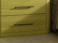 Cabinet with radius feature
