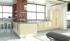 Ultra Gloss Cream Kitchen