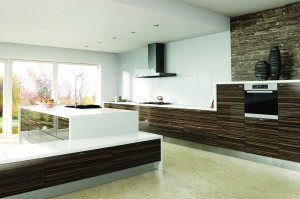 Ultra Gloss Jacaranda Kitchen